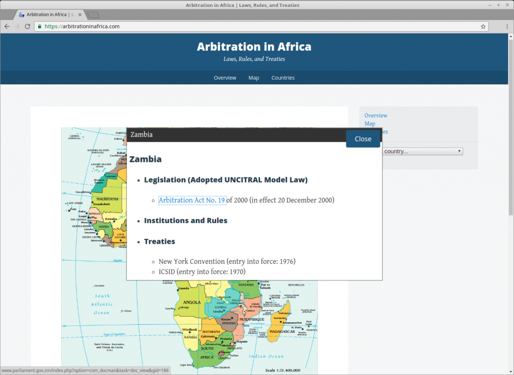 Arbitration In Africa